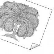 """""""Fan Tree"""" Print"""