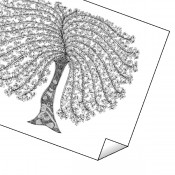 """Lady Chic Tree"" Print"