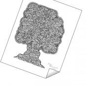 """Maze Tree"" Print"