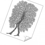 """Walk the Walk Tree"" Print"